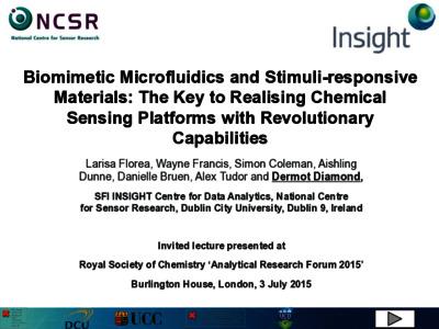 Biomimetic microfluidics and stimuli-responsive materials