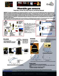 Wearable gas sensors - DORAS